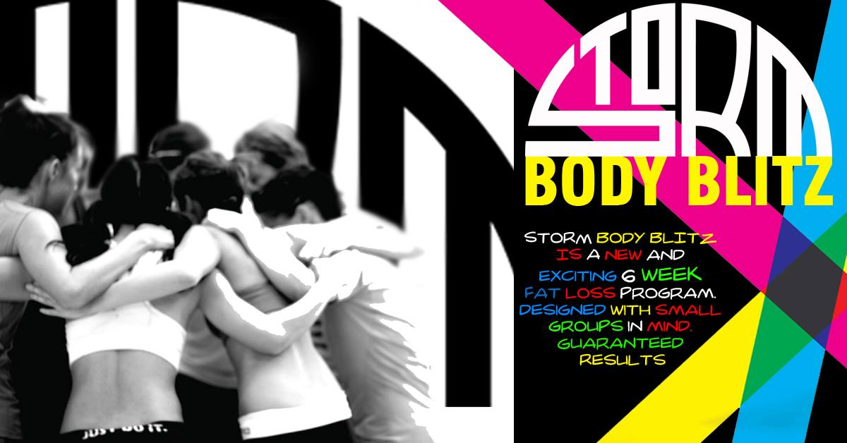 Storm Body Fitness female training classes Sligo